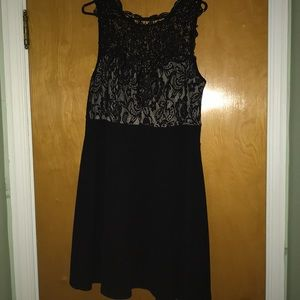 Dresses & Skirts - Lace bodice fit and flare dress